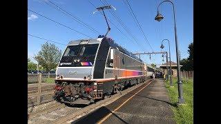NJ Transit HD 60fps: Select Morristown Line Trains @ Convent Station (5/16/19)