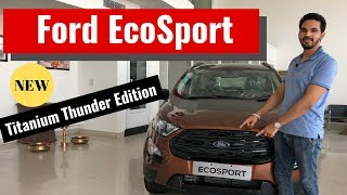 2019 Ford Ecosport Titanium Variant  Detailed Review | New Ecosport Thunder Edition | CarQuest