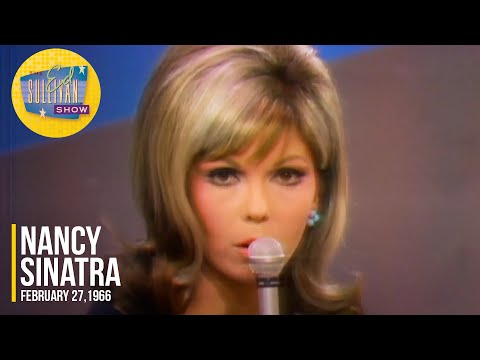 """Nancy Sinatra """"These Boots Are Made For Walkin"""" on The Ed Sullivan Show"""