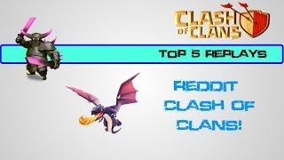 Top 5 Replays of the Week - Week 6: Defense (War) - Reddit Clash of Clans