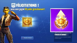 VOICI HOW TO WIN 50 PALIERS FREE ON FORTNITE SAISON 9 -PS4/XBOX ONE/PC/SWITCH! 😱