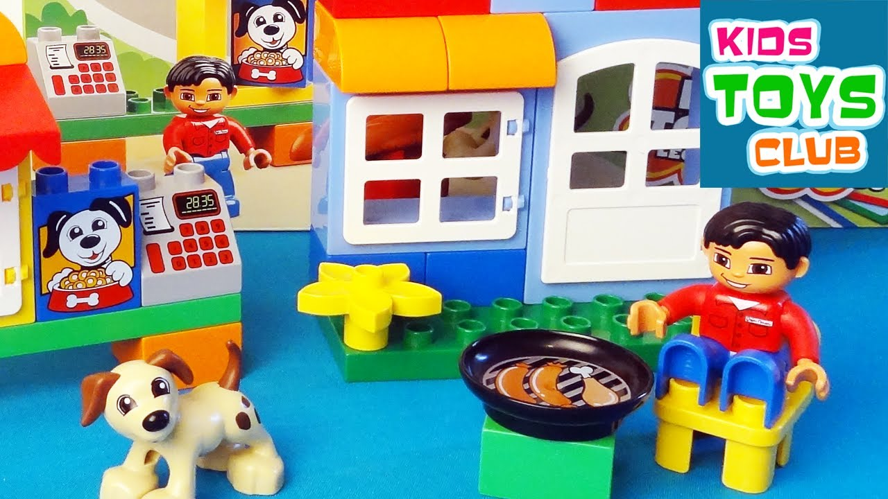 Lego Duplo My First Build 4631 Unboxing Review Build Rebuild