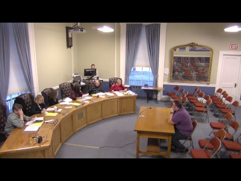 City of Plattsburgh, NY Meeting   4-16-18