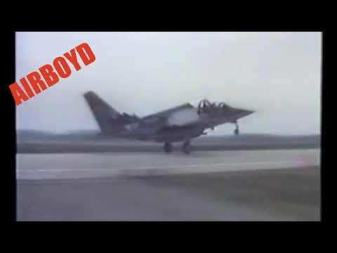 Alpha Jet Landing On Autobahn