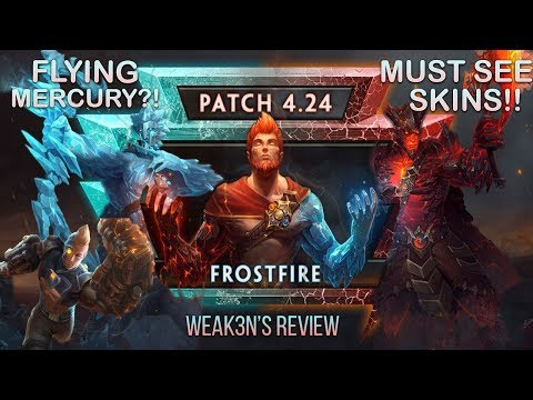 Smite PATCH NOTES: INSANE NEW TIER 5 SKIN AND THE BEST MERCURY SKIN EVER!!