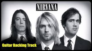 Nirvana - I Hate Myself And I Want To Die [Guitar Backing Track]