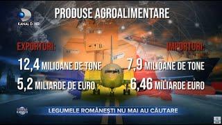 Stirile Kanal D (02.01.2021) - Legumele romanesti nu mai au cautare!   Editie de pranz