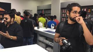 iphone Xs and Xs Max launch in Cyber Hub Gurgaon