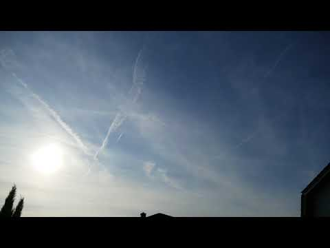23.08.2017 Teil 2 Zeitraffer/Timelapse/H.A.A.R.P /Global Dimming /Chemtrails /FullHD
