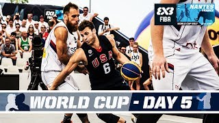 fiba 3x3 world cup 2017 nantes france live quarter semi finals
