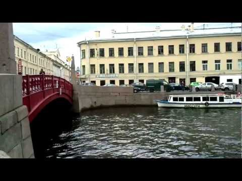 Walking Saint Petersburg / Moyka River | Санкт-Петербург, Река Мойка.