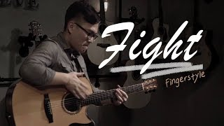 Fight ( Kotaro Oshio ) - Cover by 李軍 Fingerstyle | 實現音樂工作室