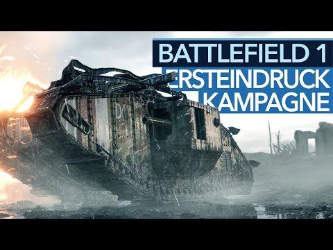 Battlefield 1 - Endlich ein Singleplayer-Hit? (Gameplay)