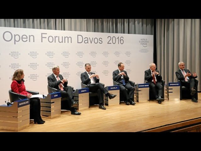 Davos 2016 - Is the Swiss Model under Threat