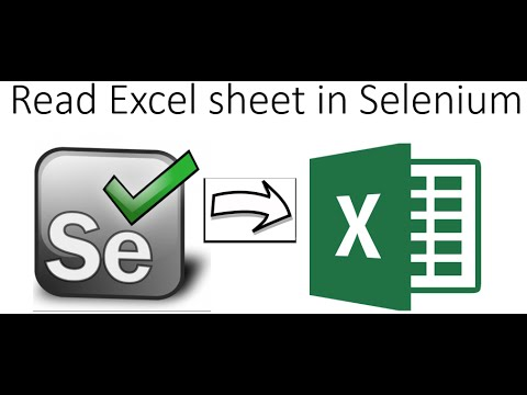 How to Read and Write Excel files in Selenium Webdriver