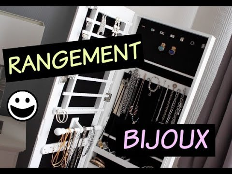 comment organiser son armoire rangement bijoux youtube. Black Bedroom Furniture Sets. Home Design Ideas