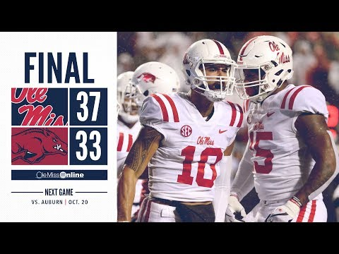 Ole Miss Football: Highlights vs. Arkansas