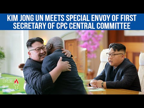 [EN] Kim Jong Un Meets Special Envoy of First Secretary of CPC Central Committee