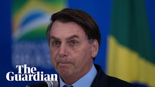 Coronavirus crisis is a 'media trick', says Brazil's Jair Bolsonaro