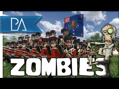 SURROUNDED BY ZOMBIES - Halloween Special - Mount and Blade: Napoleonic Wars Gameplay