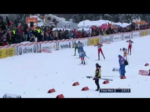 Devon Kershaw sick sprint finish in Szklarska Poreba