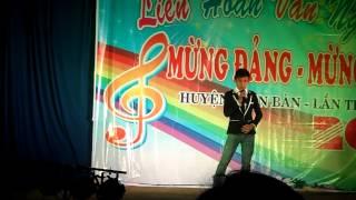 mừng đảng mừng xuân 2014 đơn ca xã Điện Minh