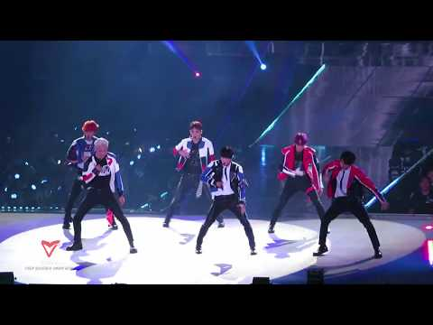 190719 EXO 엑소 - Tempo + Transformer + Gravity + Sign - EXO PLANET#5 - EXplOration [직캠]