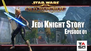 "Star Wars : The Old Republic - Jedi Knight Story Ep 01 "" Trouble at the Training Grounds"""""