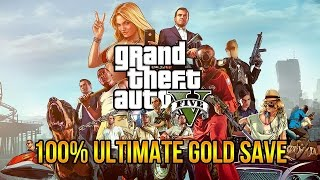 GTA 5 100% Ultimate Gold Save PC Download