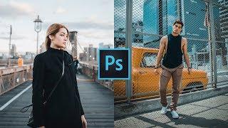 How to Edit Like Sam Kolder (KOLD) in Photoshop | Orange and Teal Color Grading Photoshop