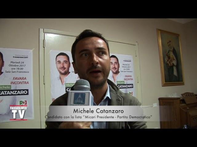 Regionali 2017. Intervista a Michele Catanzaro - Micari Presidente