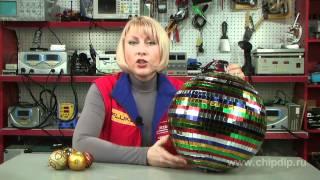 видео зеркальный шар для дискотеки
