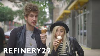Evelina & Joey Graceffa Explore Downtown Los Angeles | Daycation Thumbnail
