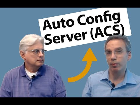 What is an Auto Configuration Server (ACS)