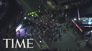 Fans Celebrate Boston Red Sox World Series Win | TIME