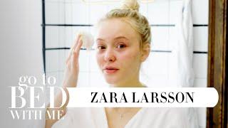 Swedish Pop Star Zara Larsson's Nighttime Skincare Routine | Go To Bed With Me | Harper's BAZAAR