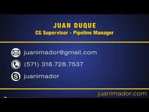 Juan Duque - CG Supervisor DemoReel 2014