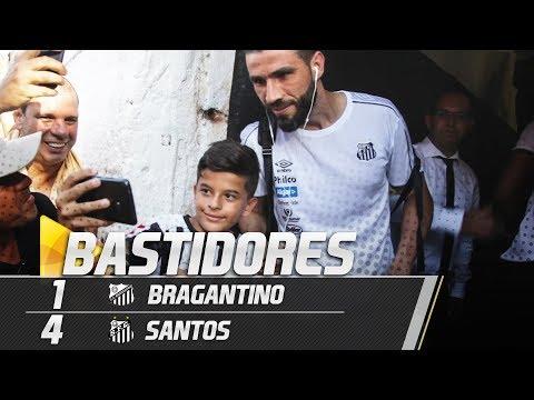 Bragantino 1 x 4 Santos | BASTIDORES | Paulistão (31/01/19)