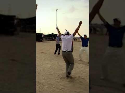 Clay pigeon golf! ⛳️