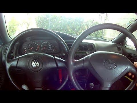 Como substituir o Volante do Toyota Corolla E10!