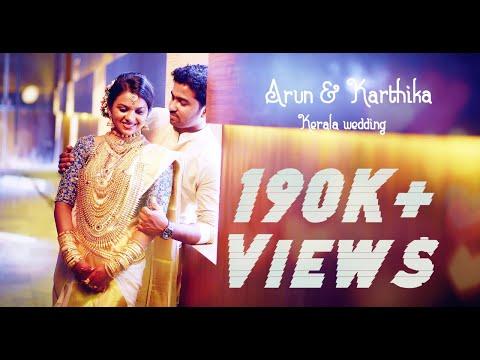 Arun+Karthika kerala wedding highlights 2016 - The Coconut Wedding Cinemas
