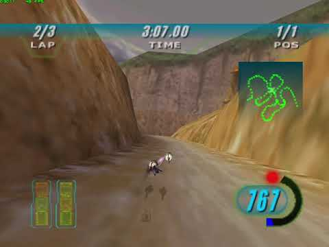 Star Wars Episode I Racer - Fire Mountain Rally 5:26.565 |