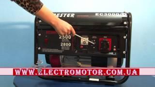видео Бензиновый генератор Geko P 3000 E-A/SHBA
