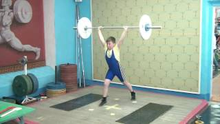 Бахтияров Илья, 10 лет, вк 42 Толчок 29 кг