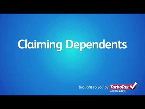Claiming Dependents On Your 2011 Tax Return - TurboTax Tax Tip Video