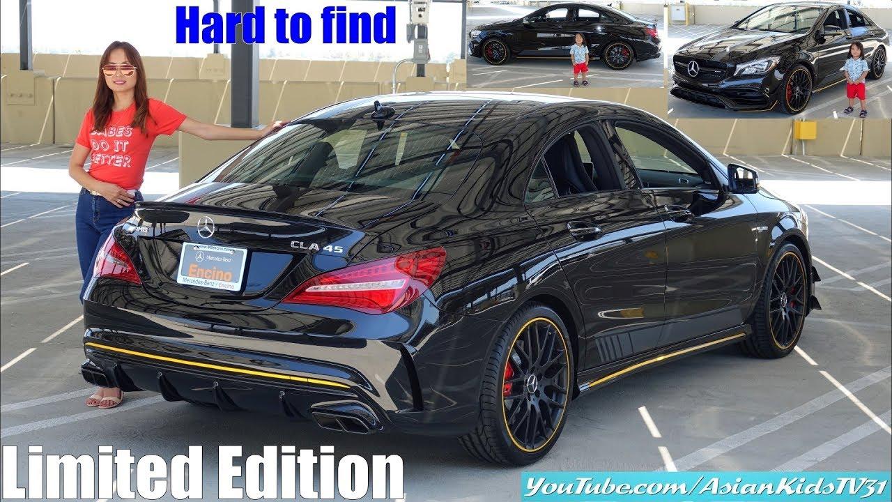 2018 Mercedes-Benz AMG CLA45 4Matic All Wheel Drive Sportscar ...