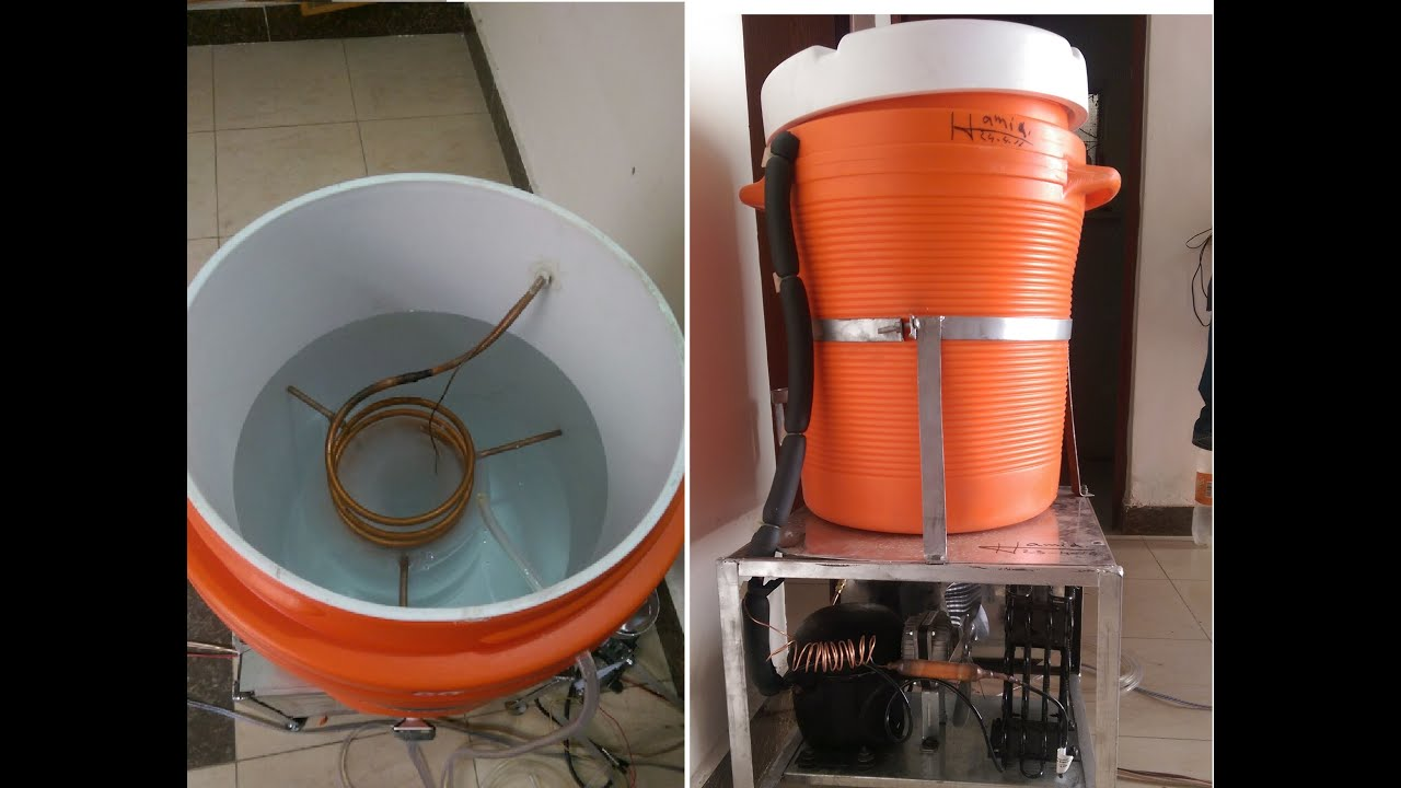 Electric Water Cooler With Fridge Compressor Local Made