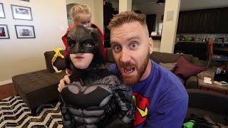 Justice League Movie Gear Test: Batman Nerf Prank! by KIDCITY