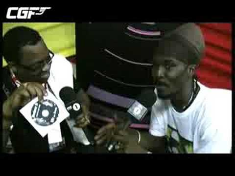 Chris Goldfinger - Anthony B interview Sumfest 08