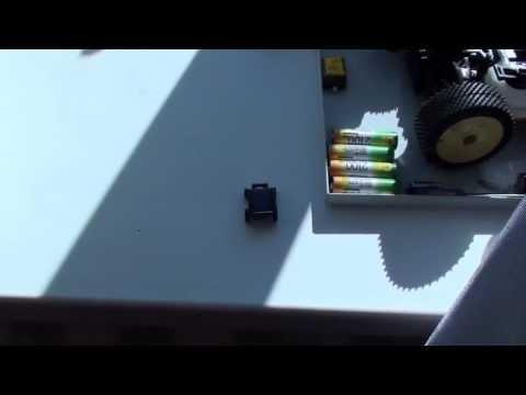 Solar Energy Power-Supply Mini Car